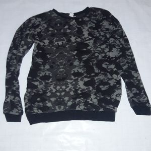 Vans Sz S SWEATER camoflauge zippers on sides
